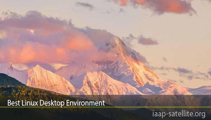 Best Linux Desktop Environment